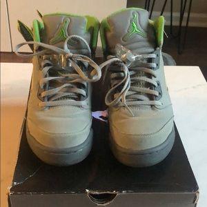 Air Jordan 5 Retro Green Bean
